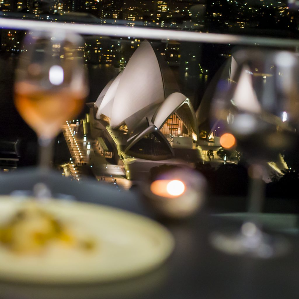 Rooftop views at the Intercontinental Sydney Supper Club.