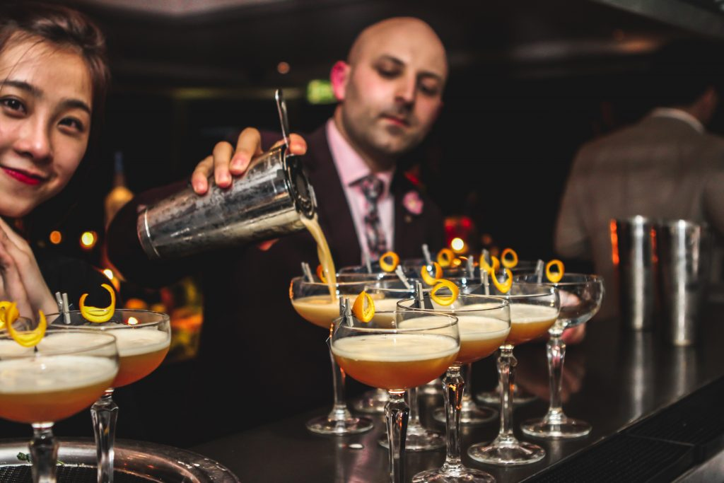 Cocktails aplenty at the Intercontinental Sydney